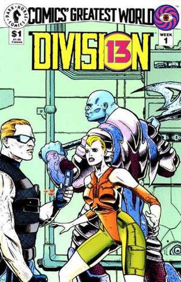 Comics' Greatest World: Division 13 #1