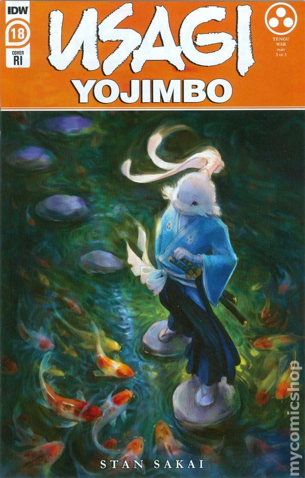 Usagi Yojimbo #18