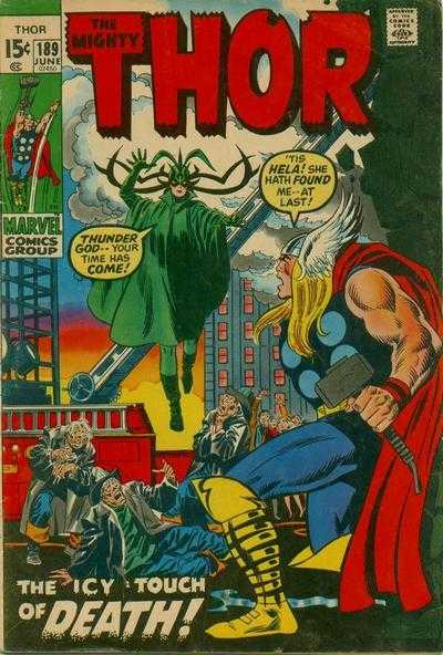 The Mighty Thor #189