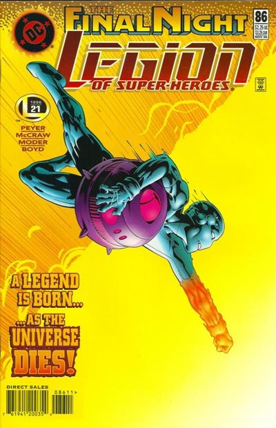 Legion of Super-Heroes #86