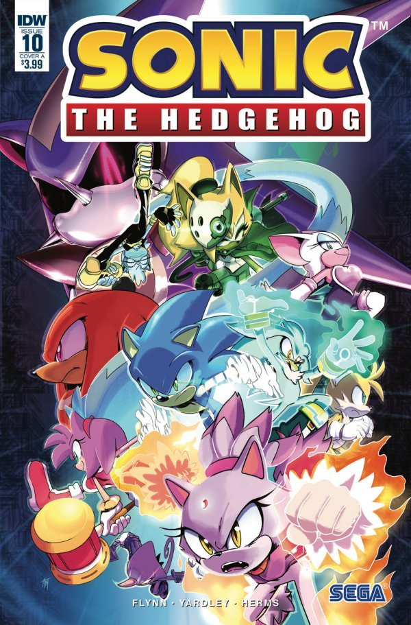 Sonic the Hedgehog #10