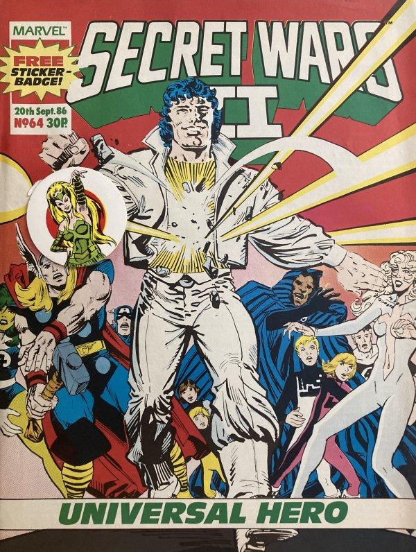 Marvel Super Heroes Secret Wars #64