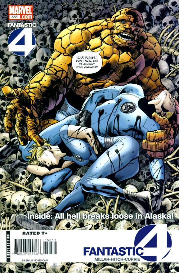 Fantastic Four #556