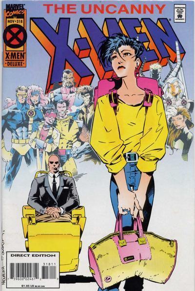 Uncanny X-Men #318