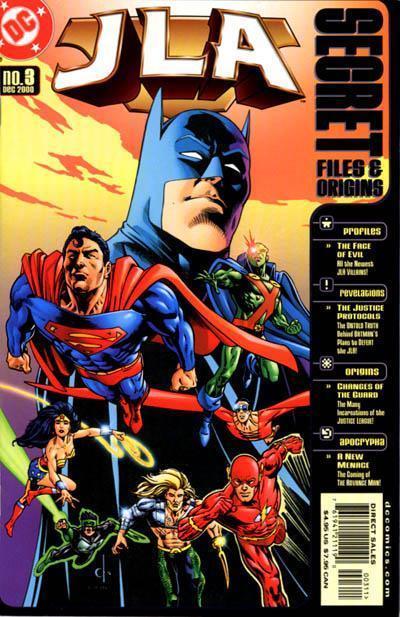 JLA: Secret Files & Origins #3