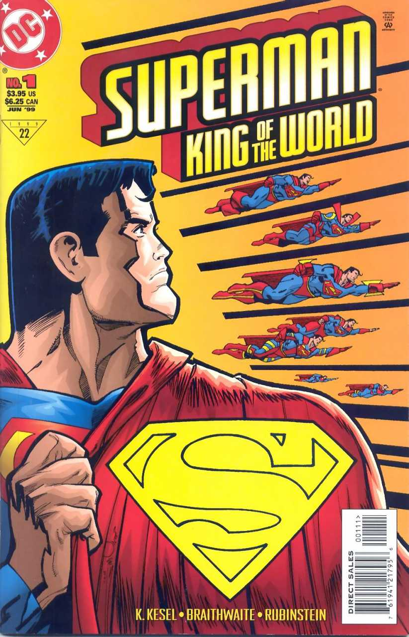Superman: King of the World #1