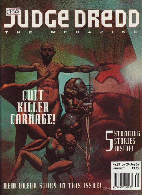 Judge Dredd: The Megazine #33