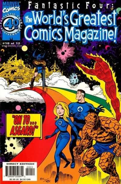 Fantastic Four: The World's Greatest Comics Magazine #10