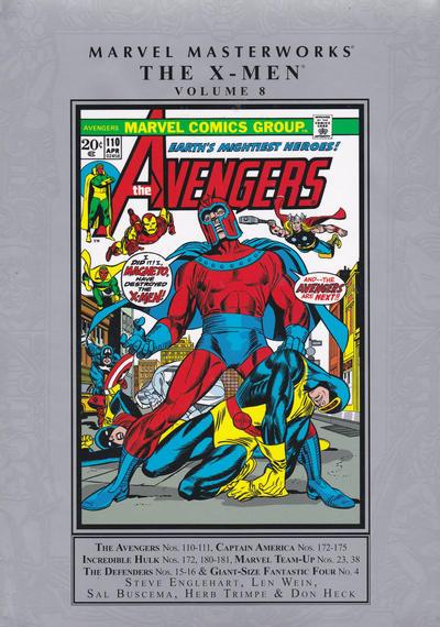 Marvel Masterworks: X-Men Vol. 8 HC