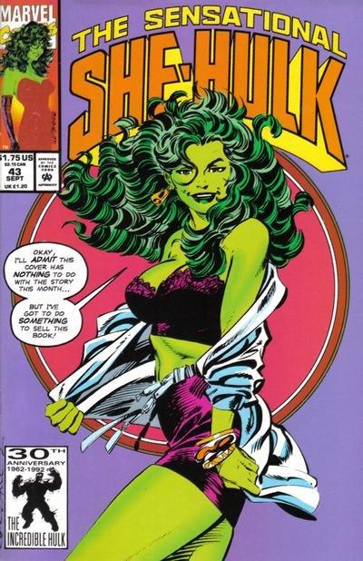 The Sensational She-Hulk #43