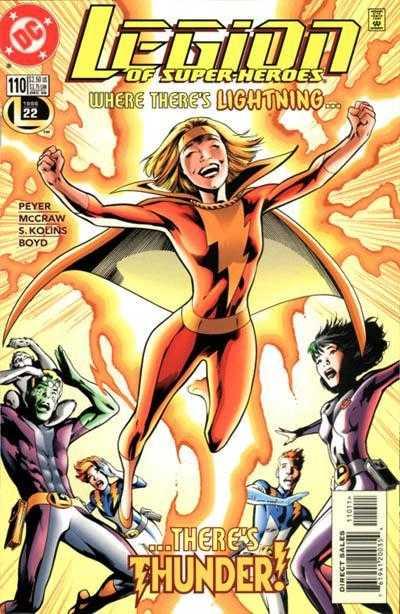 Legion of Super-Heroes #110