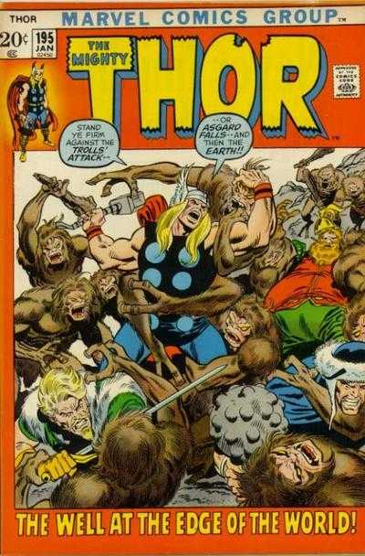 The Mighty Thor #195