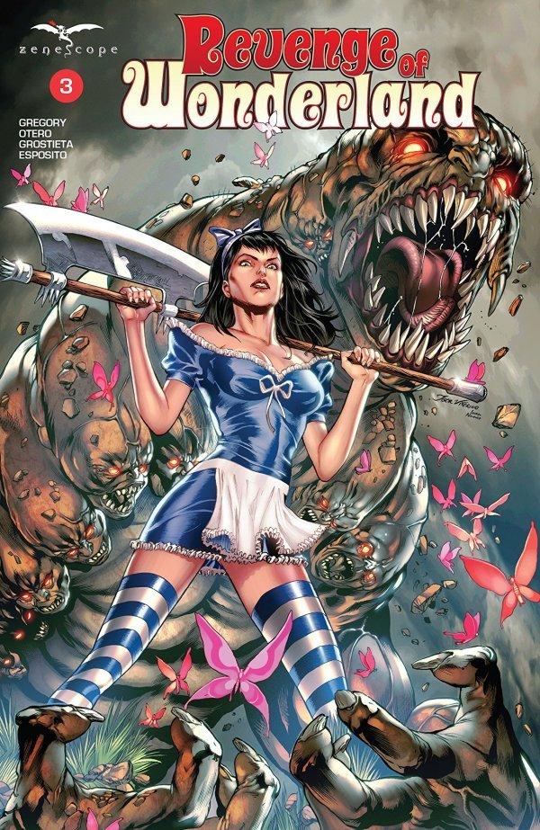 Revenge Of Wonderland #3 Reviews