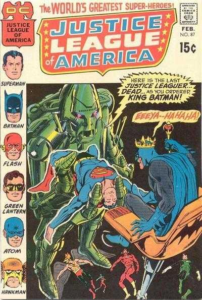 Justice League of America #87
