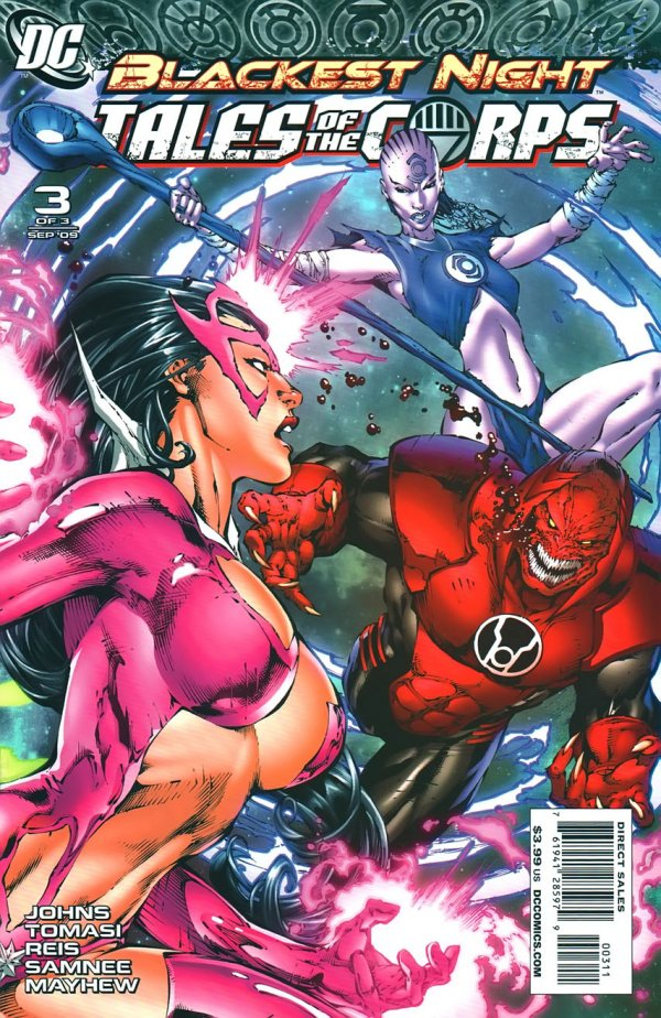 Blackest Night: Tales of the Corps #3