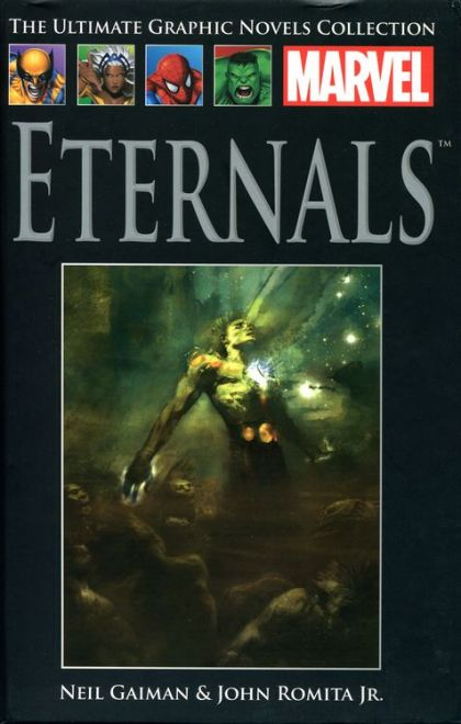 The Ultimate Graphic Novels Collection Eternals HC
