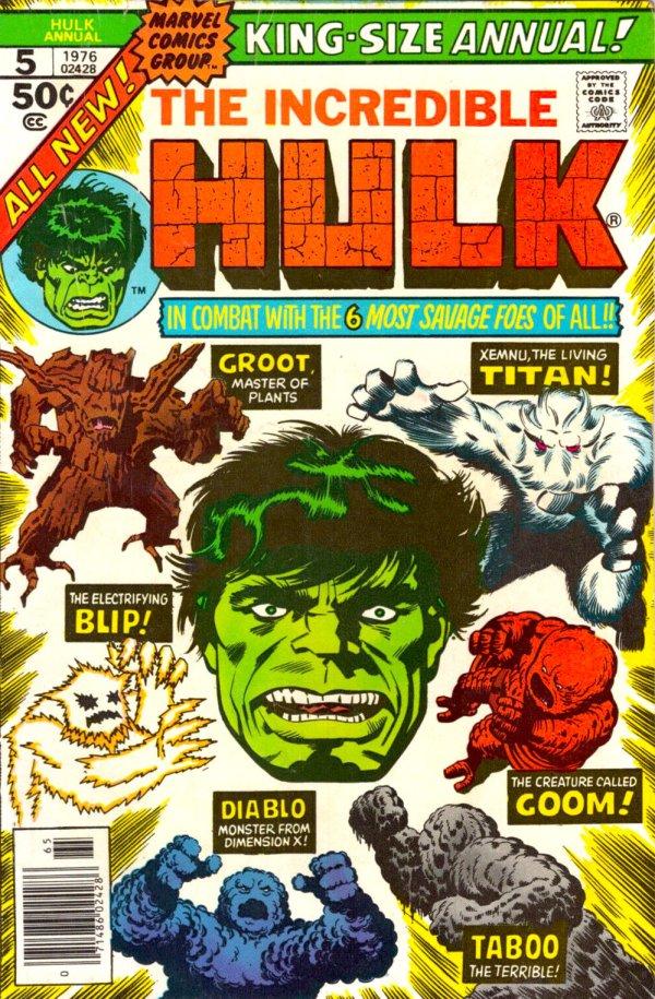 The Incredible Hulk Annual #5