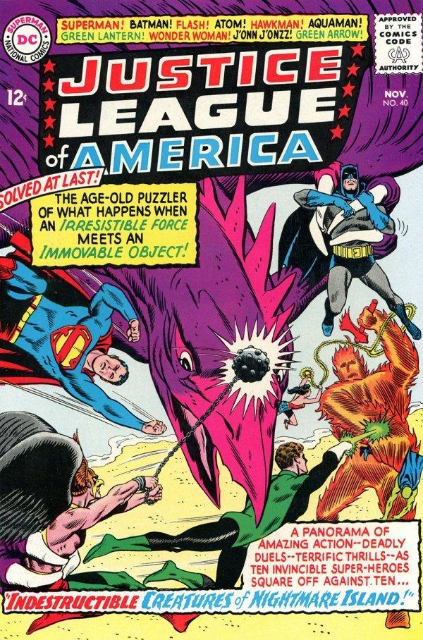 Justice League of America #40