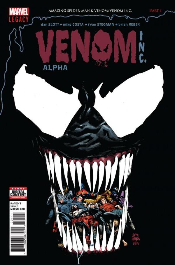 Amazing Spider-Man & Venom: Venom Inc. Alpha #1