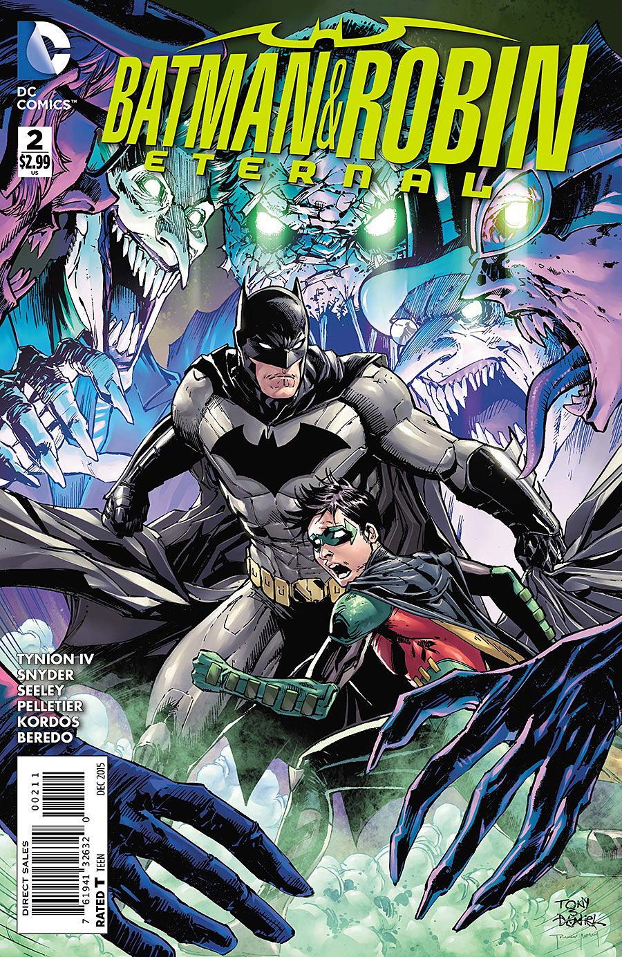Batman and Robin Eternal TP Vol 1 Excellent Snyder Scott
