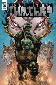 Teenage Mutant Ninja Turtles: Universe #25