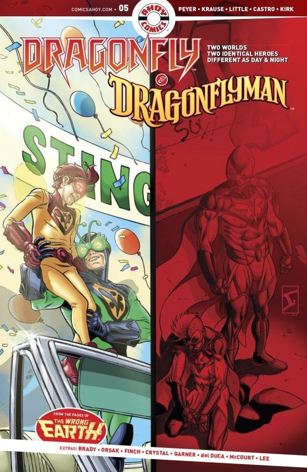 Dragonfly & Dragonflyman #5 review