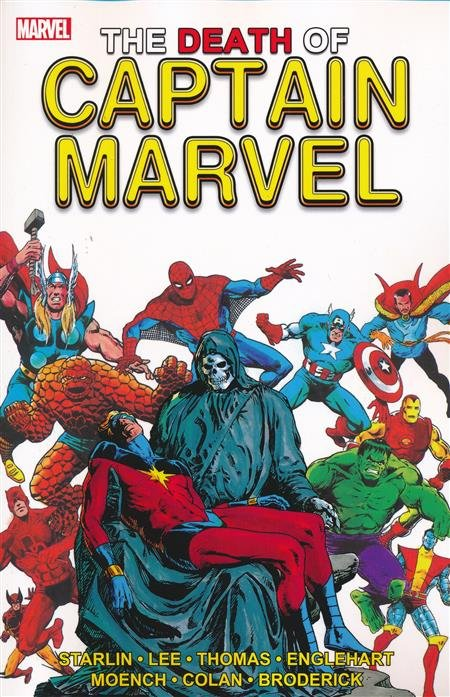 The Death of Captain Marvel TP Third Edition
