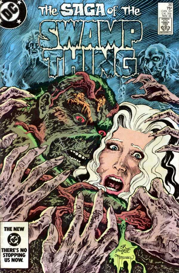 The Saga of the Swamp Thing #30