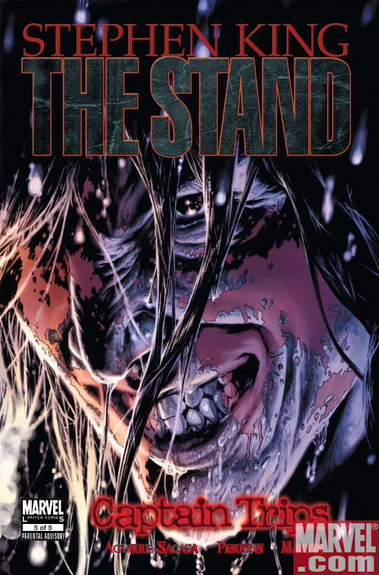 Stand Captain Trips  #1  Perkins Variant Cover