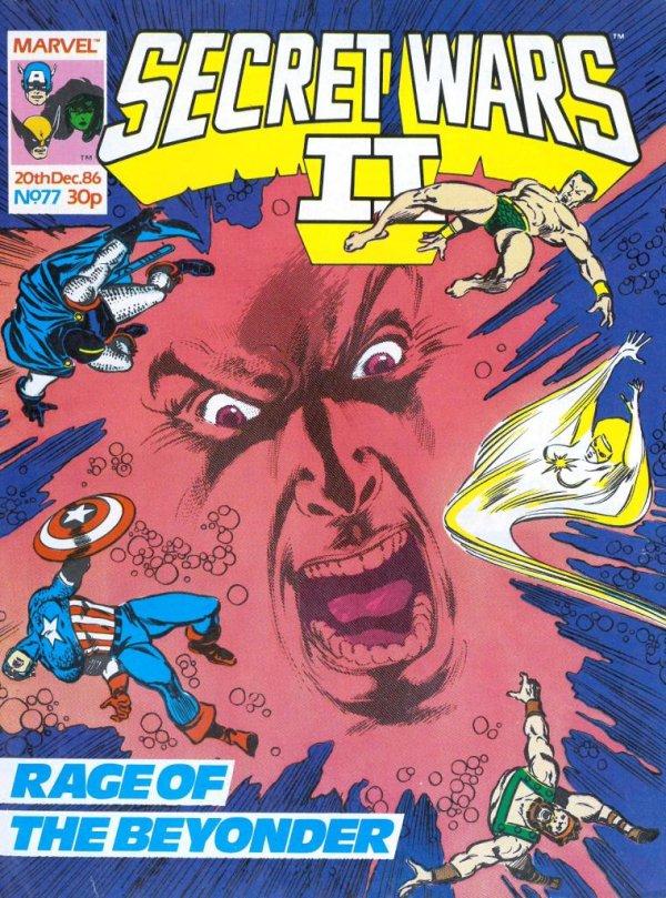 Marvel Super Heroes Secret Wars #77