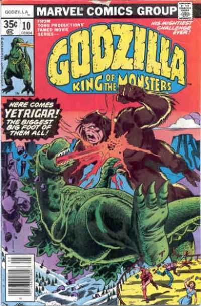 Godzilla: King of the Monsters #10