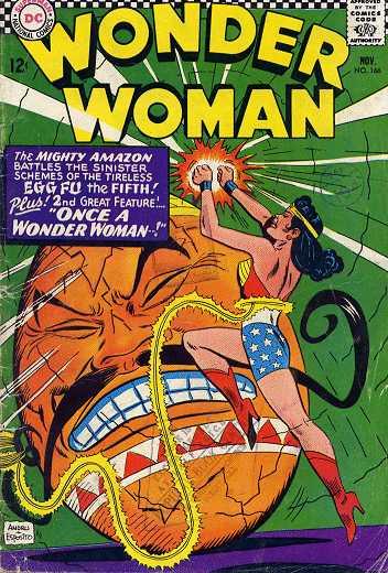 Wonder Woman #166