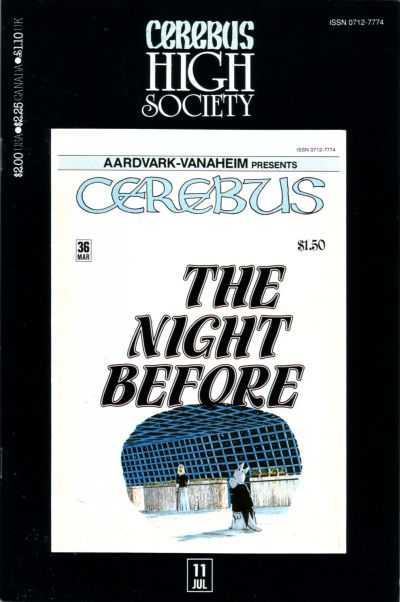 Cerebus High Society #11
