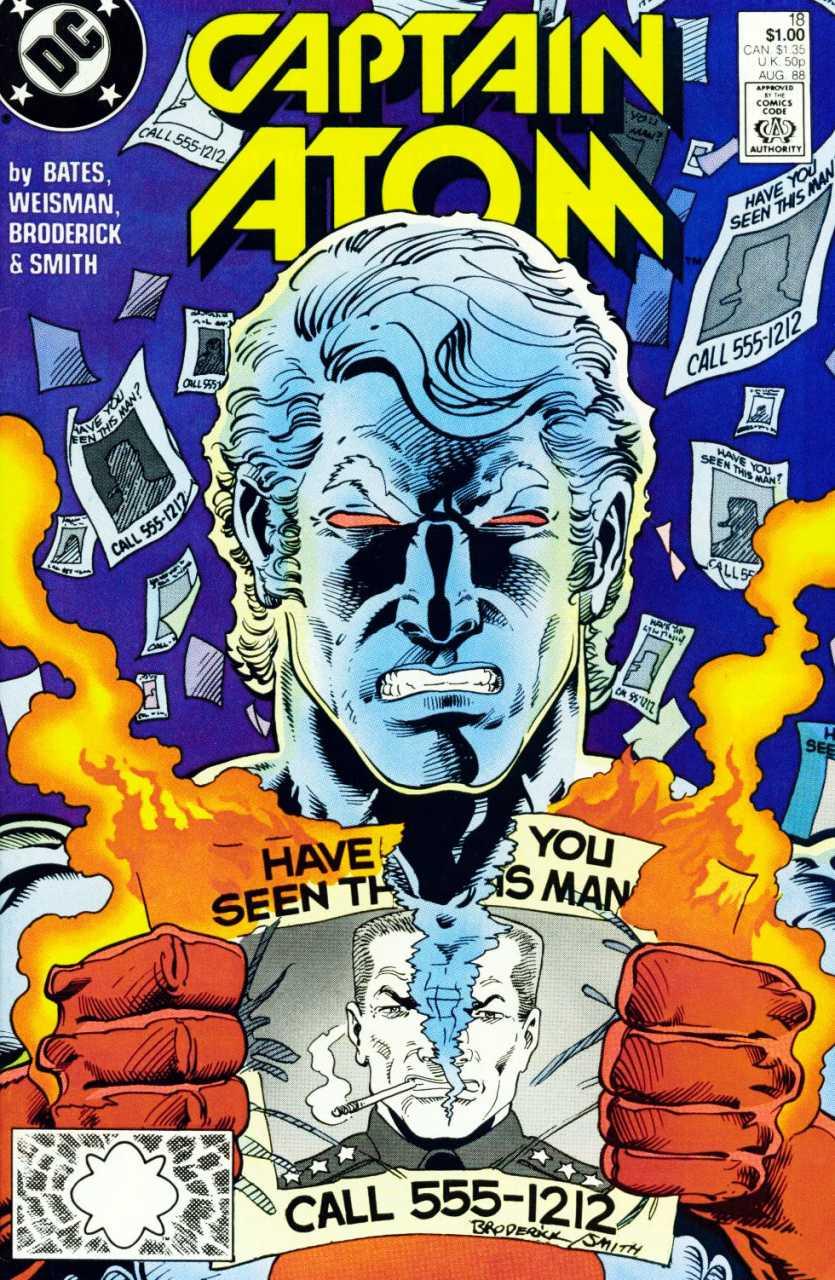 Captain Atom #18