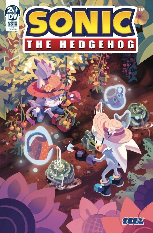 Sonic the Hedgehog Annual 2019 #1