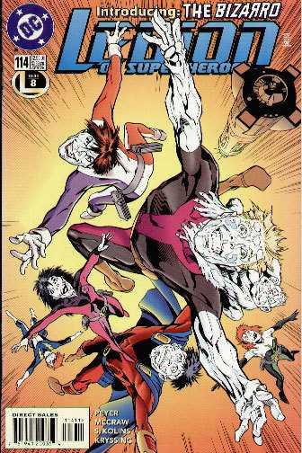 Legion of Super-Heroes #114
