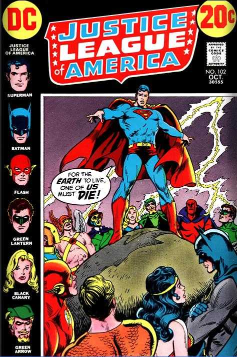 Justice League of America #102
