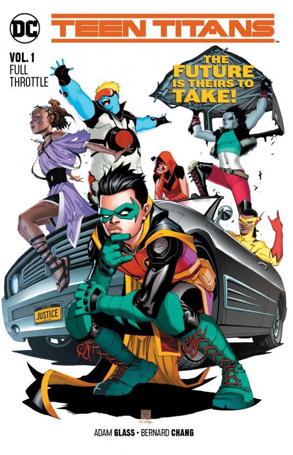 Teen Titans Vol. 1: Full Throttle TP