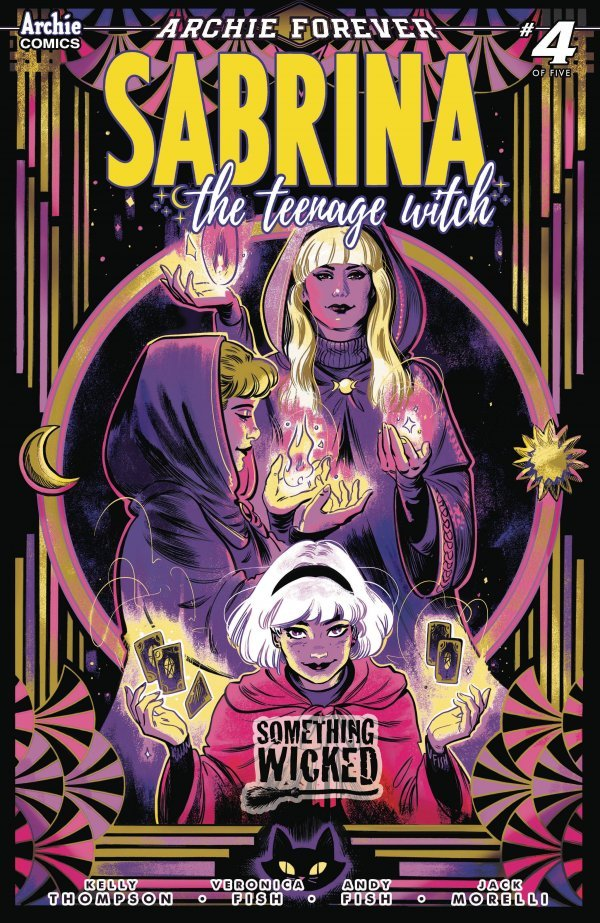 2020 SABRINA THE TEENAGE WITCH SOMETHING WICKED #1 OF 4 1ST PRINT COVER A