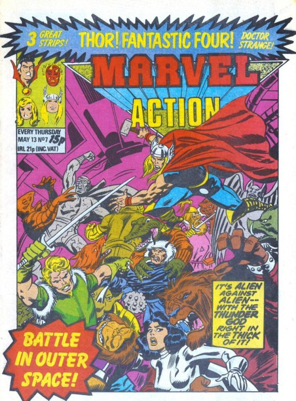 Marvel Action #7