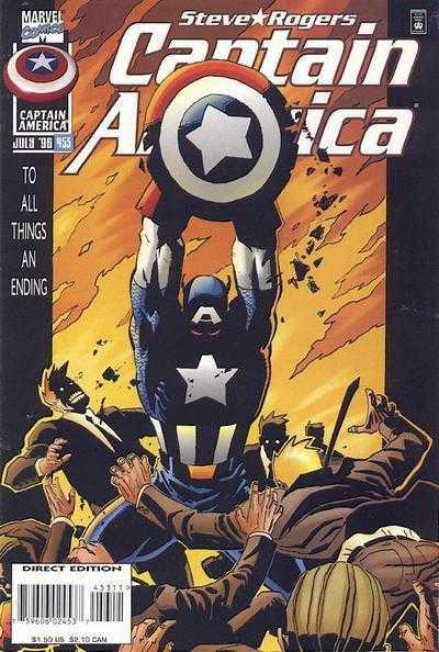 Captain America #453