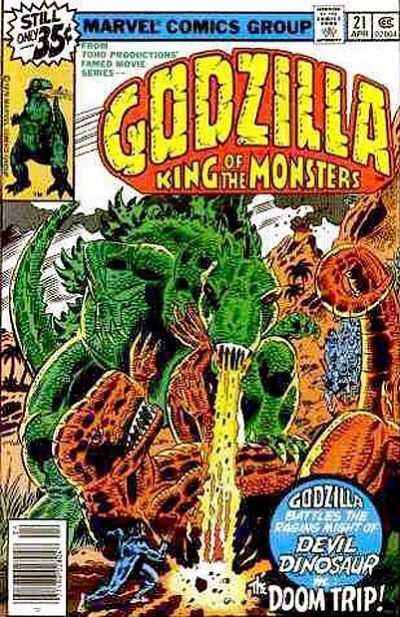 Godzilla: King of the Monsters #21