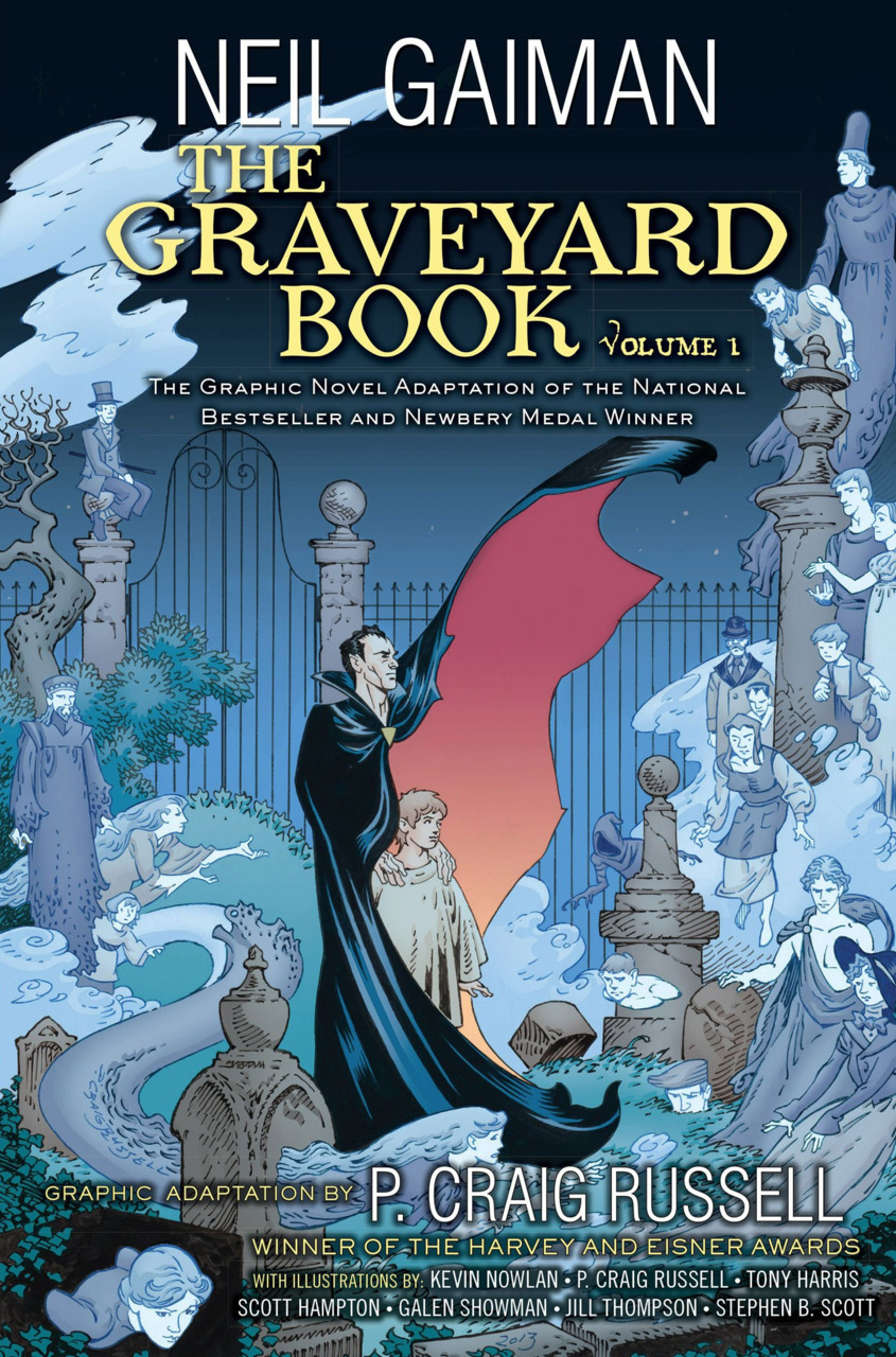 The Graveyard Book Graphic Novel Vol. 1 HC review