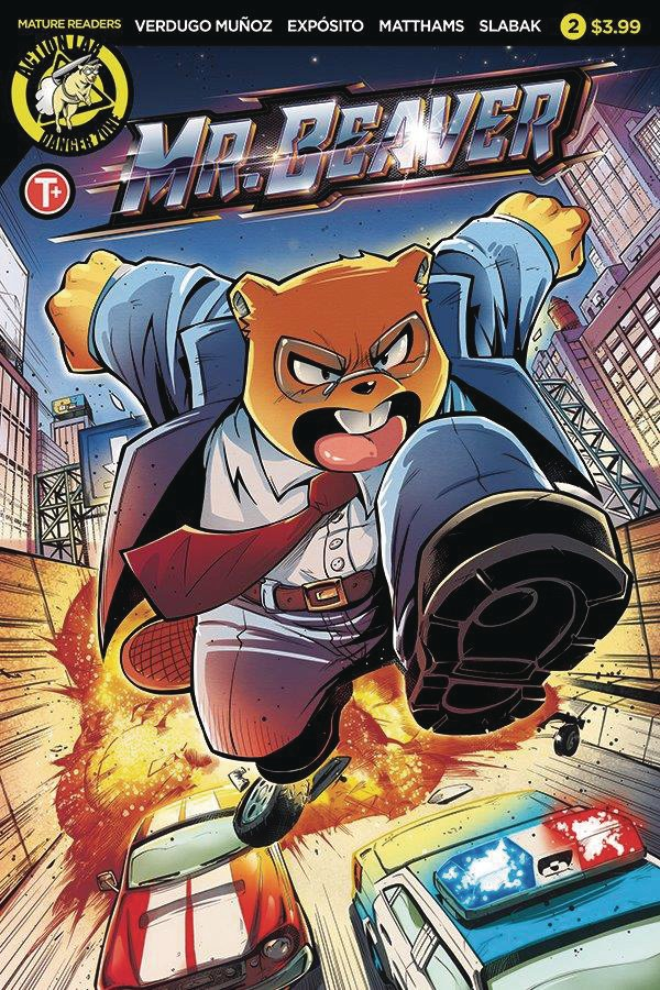 Mr Beaver #2 The Furry Action Comic You Didn't Know You Needed