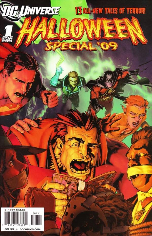 DCU Halloween Special '09 #1
