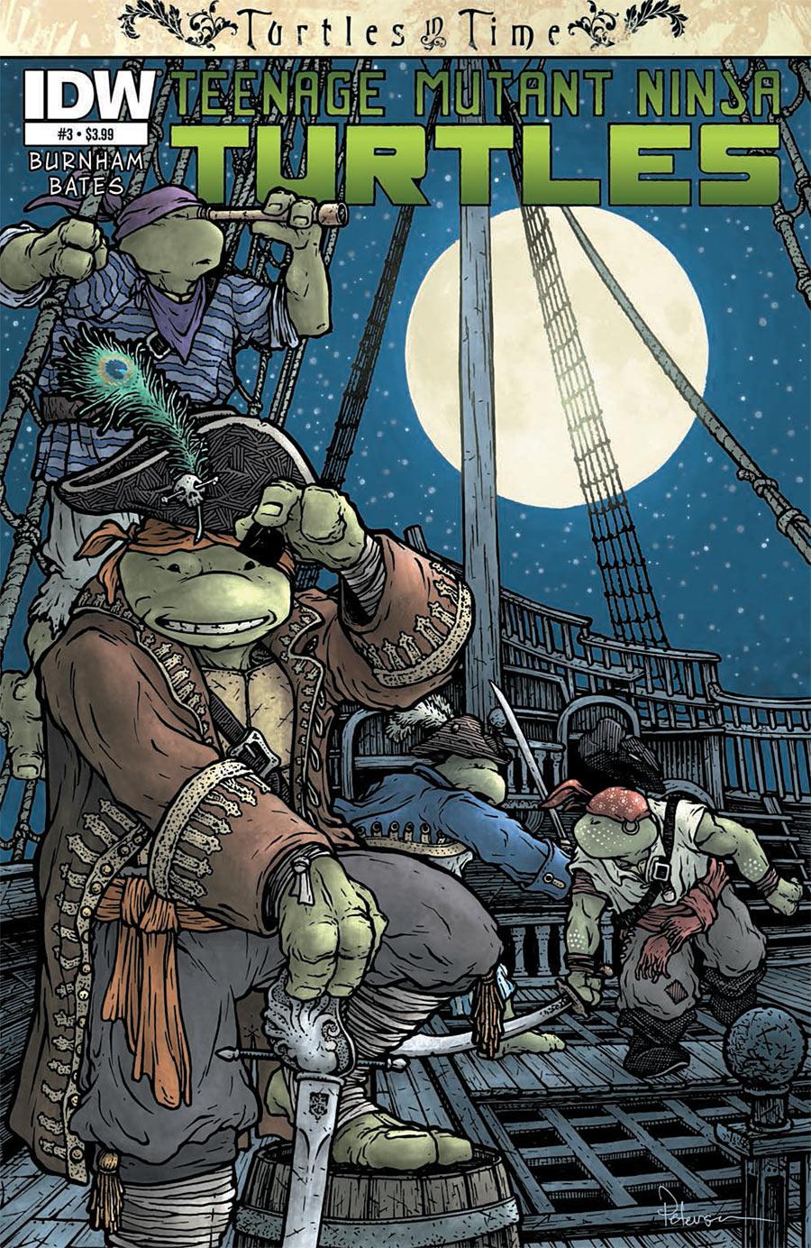 Teenage Mutant Ninja Turtles: Turtles in Time #3