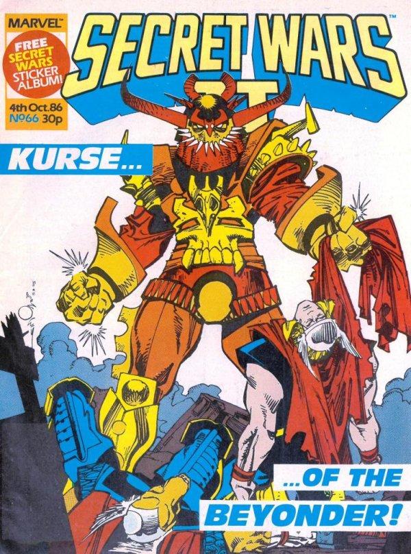 Marvel Super Heroes Secret Wars #66