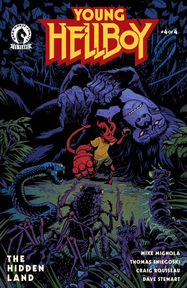Young Hellboy: The Hidden Land #4