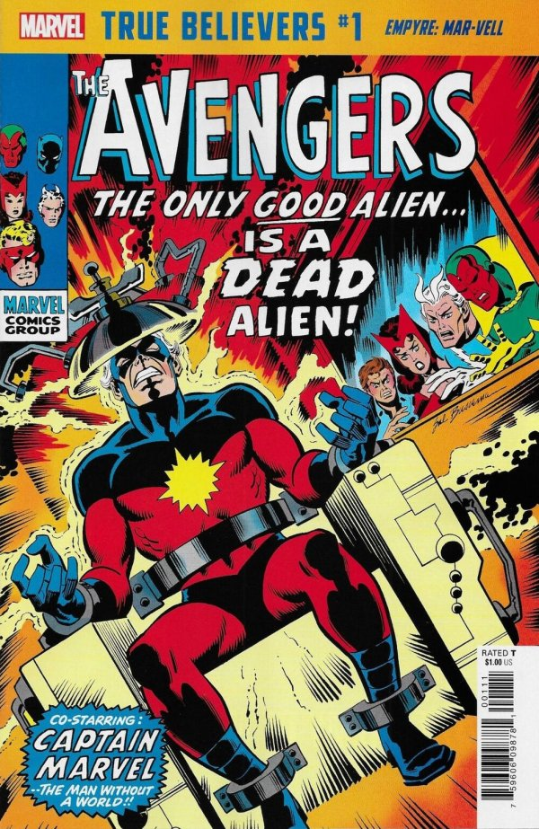 True Believers: Empyre - Mar-Vell #1