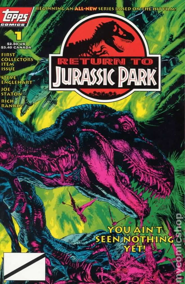 Return to Jurassic Park #1
